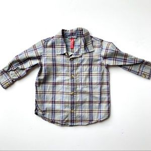 🌟Host Pick🌟Hanna Andersson Plaid Button Down